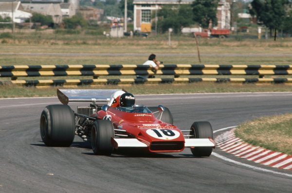 1973 Argentinian Grand Prix.  Buenos Aires, Argentina. 26-28th January 1973.  Jacky Ickx, Ferrari 312B2, 4th position.  Ref: 73ARG20. World Copyright: LAT Photographic