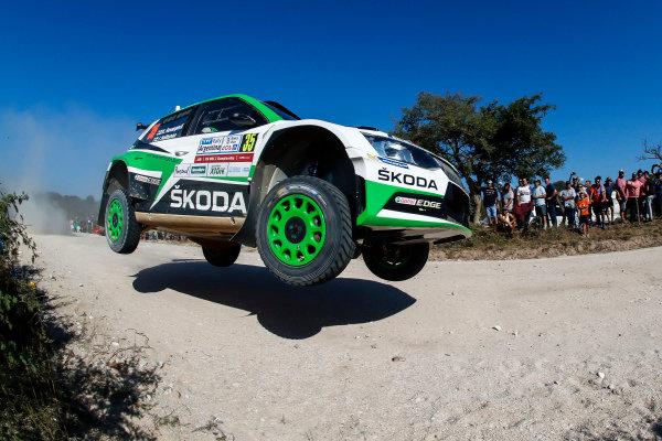 Kalle Rovanpera in his Skoda R5 on Rally Argentina