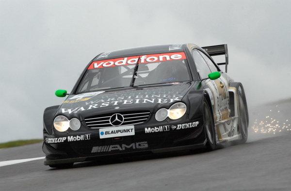 Marcel Fassler (GER) Warsteiner AMG Mercedes CLK, finished third.DTM Championship, Rd9, Zandvoort, Holland. 29 September 2002.DIGITAL IMAGE