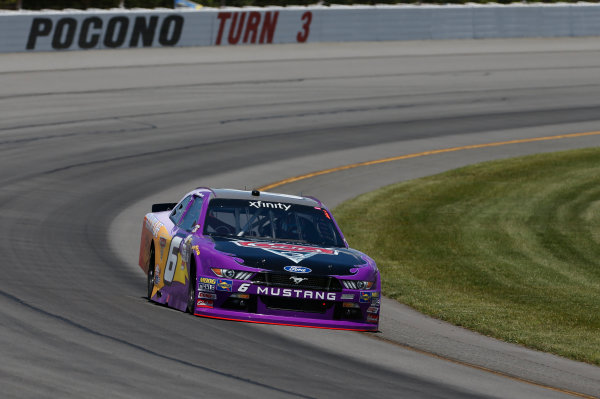 NASCAR XFINITY Series Pocono Green 250 Pocono Raceway, Long Pond, PA USA Friday 9 June 2017 Darrell Wallace Jr, Disney Pixar Cars 3 Ford Mustang World Copyright: Matthew T. Thacker LAT Images ref: Digital Image 17POC1mt1013