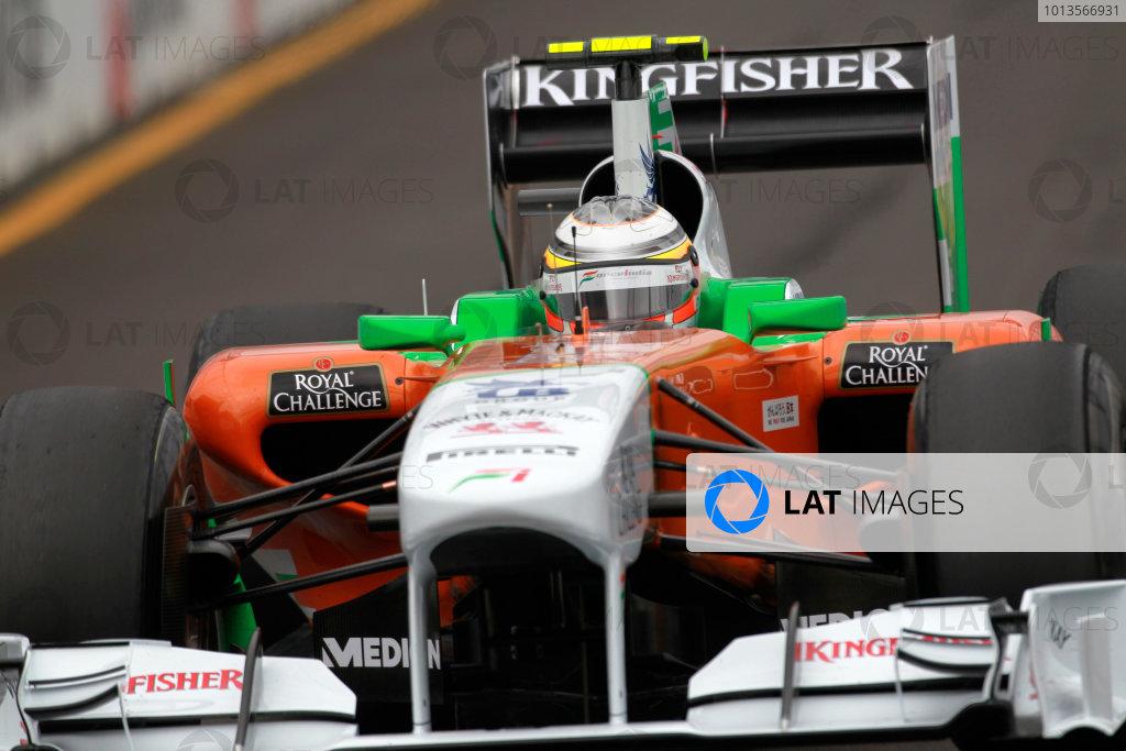 Albert Park, Melbourne, Australia 25th March 2011. Nico Hulkenberg, Force India VJM04 Mercedes. Action.  World Copyright: Charles Coates/LAT Photographic ref: Digital Image _X5J8670
