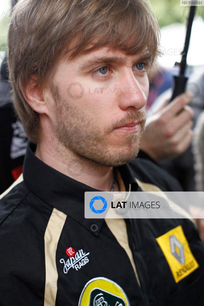 Albert Park, Melbourne, Australia 24th March 2011. Nick Heidfeld, Lotus Renault GP R31. Portrait. World Copyright: Andrew Ferraro/LAT Photographic ref: Digital Image _Q0C6783