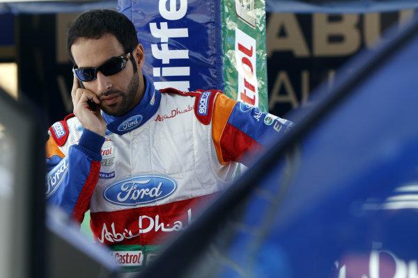 Round 04 Rally Jordan. 14th-16th April 2011.Al qassimi Khalid, Ford WRC, Portrait.Worldwide Copyright: McKlein/LAT