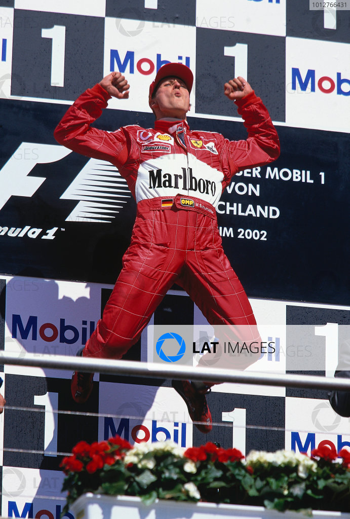 2002 German Grand Prix.