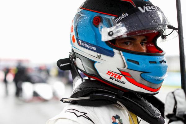 Nyck de Vries (NLD), Mercedes Benz EQ, on the grid