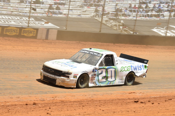 #20: Spencer Boyd, Young's Motorsports, Chevrolet Silverado EcoTwist
