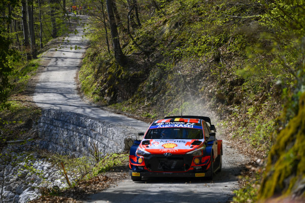 Thierry Neuville (BEL), Hyundai World Rally Team, Hyundai i20 Coupe WRC 2021