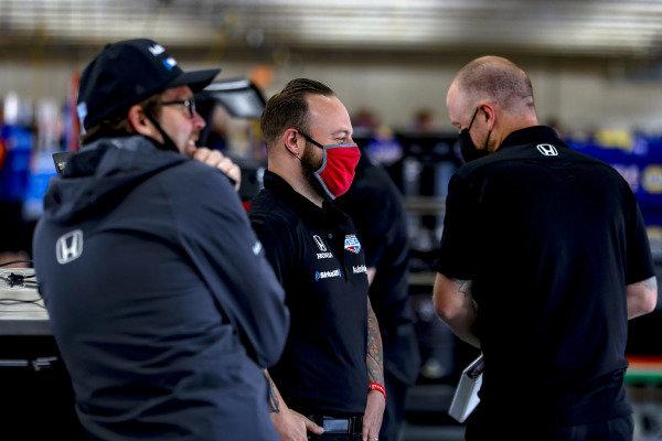 #60: Jack Harvey, Meyer Shank Racing Honda crew