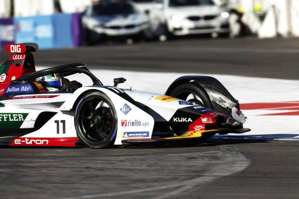 Lucas Di Grassi (BRA), Audi Sport ABT Schaeffler, Audi e-tron FE05, with damage