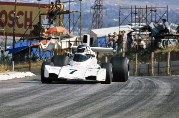 Carlos Reutemann, Brabham BT44 Ford.