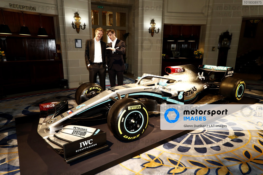 Mercedes F1 Announcement