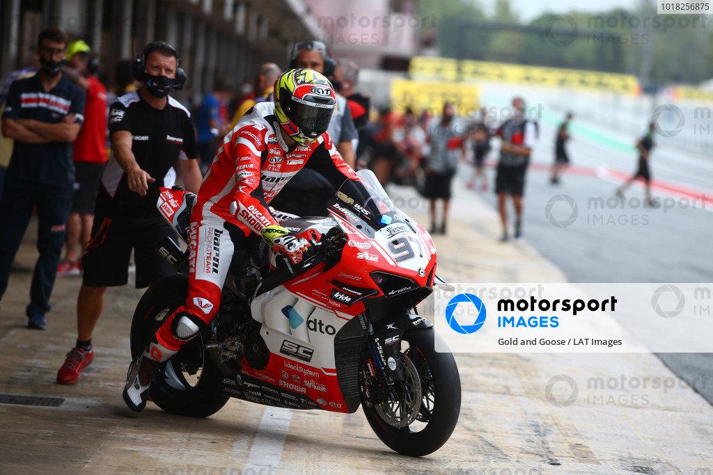 Samuele Cavalieri, Barni Racing.