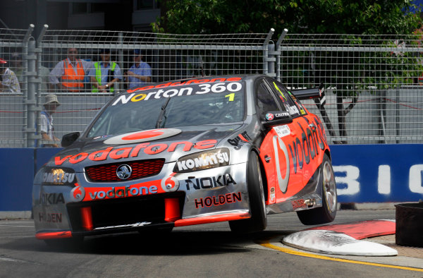 Homebush Street Circuit, Sydney, New South Wales.4th - 5th December 2010.Jamie Whincup of Triple Eight Racing during the Sydney Telstra 500 Grand Finale.World Copyright: Mark Horsburgh/LAT Photographicref: Digital Image 1-Whincup-EV14-10-00208F