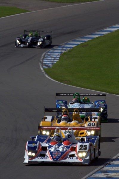 Thomas Erdos (BRA) RML MG Lola EX264 AER.Le Mans Series, Rd4, Donington Park, England, 28 August 2006.DIGITAL IMAGE