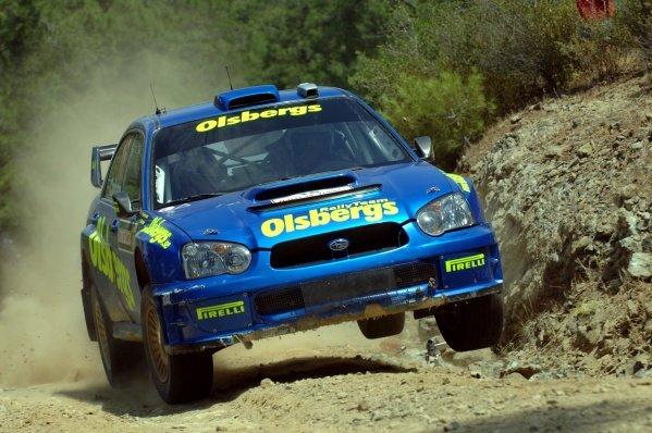 2005 FIA World Rally Championship, Rally of Turkey, June 2-5, 2005Kemer, Turkey.ShakedownDaniel Carlsson (SWE) on the shakedown stage.Digital Image