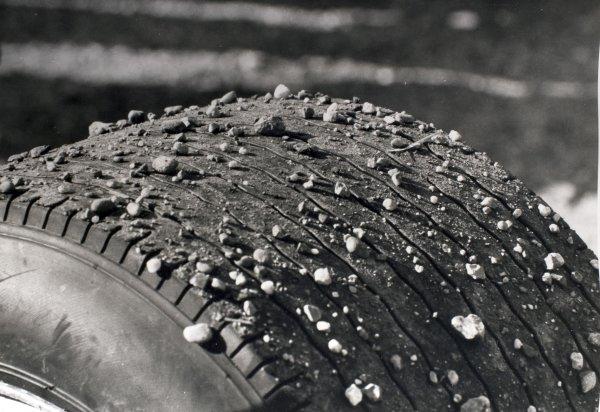 1969 Dutch Grand Prix.Zandvoort, Holland. 21 June 1969.Tyres, technical.World Copyright: LAT PhotographicRef: Autocar b&w print