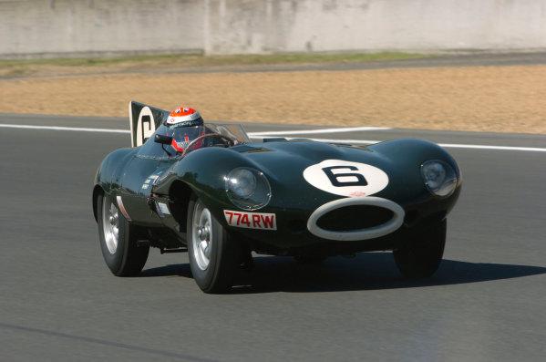 2005 Le Mans LegendsLe Mans, France. 17th - 18th JuneJohnny Herbert (Jaguar D - Type). Action World Copyright: Jeff Bloxham Ref: Digital image only.