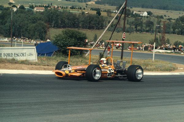 1969 South African Grand Prix.Kyalami, South Africa.27/2-1/3 1969.John Love (Team Gunston/Lotus 49 Ford).Ref-69 SA 47.World Copyright - LAT Photographic