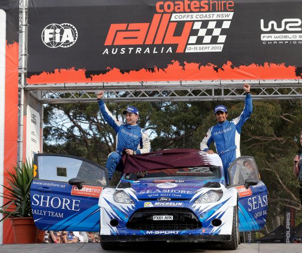 2013 FIA World Rally Championship Round 10, Rally Australia, 12th-15th September 2013. Abdulaziz Al Kuwari, Ford. Worldwide Copyright: McKlein/LAT