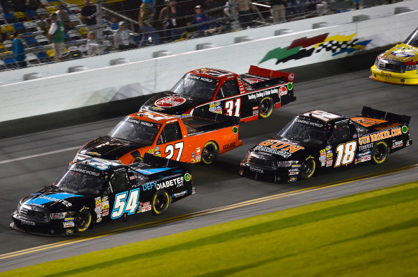 February 21-22, 2013 Daytona Beach, Florida USA Darrell Wallace Jr. pack.(c) 2013, Brian Czobat LAT Photo USA .