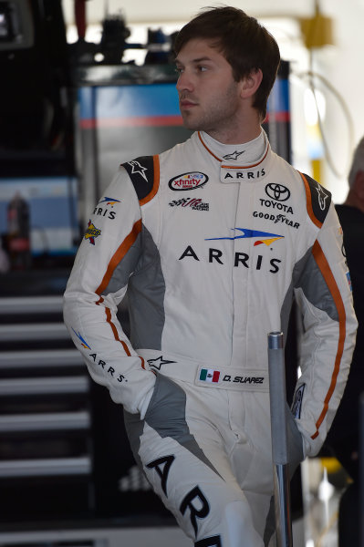 6-7 March, 2015, Las Vegas, Nevada USA Daniel Suarez, Arris Toyota Camry ?2015, John Harrelson/LAT Photo USA