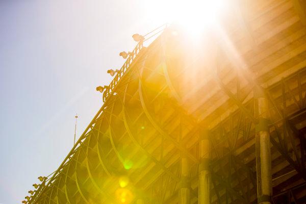2015/2016 FIA Formula E Championship. Mexico City ePrix, Autodromo Hermanos Rodriguez, Mexico City, Mexico. Friday 11 March 2016. The stadium. Photo: Zak Mauger/LAT/Formula E ref: Digital Image _79P2309