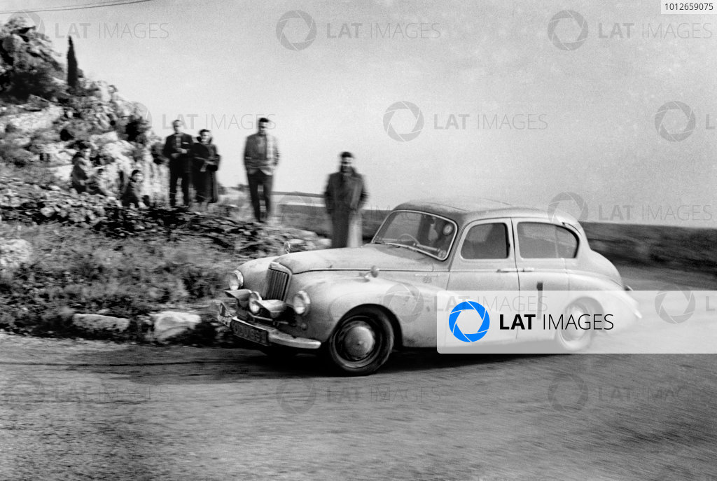 1954 Monte Carlo Rally.