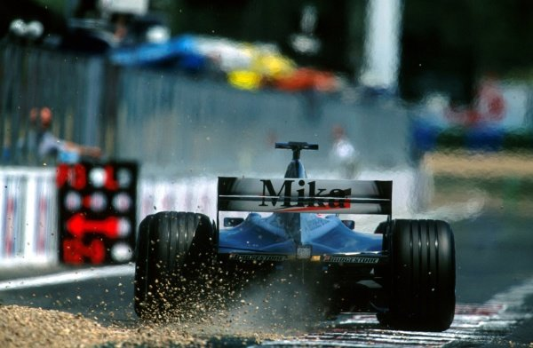 Mika Hakkinen(FIN) McLaren Mercedes MP4/16 had another Grand Prix to forget French Grand Prix, Magny Cours, 1 July 2001 BEST IMAGE