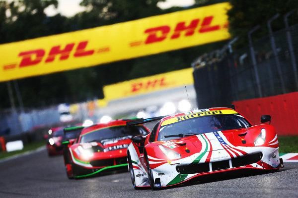#61 AF Corse - Ferrari 488 GTE EVO: Christoph Ulric, Simon Mann, Toni Vilander