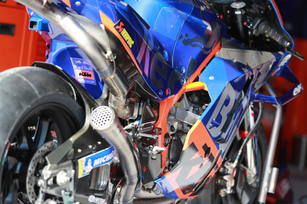 Bike of Miguel Oliveira, Red Bull KTM Tech 3.