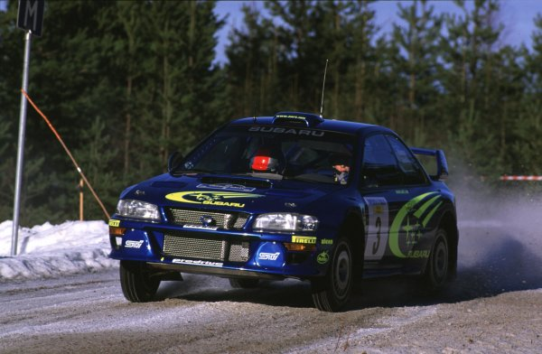 Richard Burns, Subaru Impreza WRC
