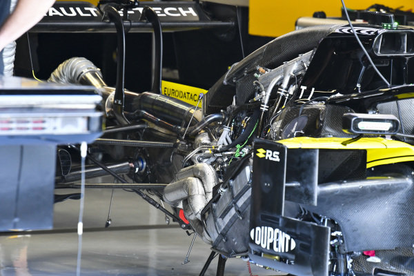 Engine of Renault R.S.19