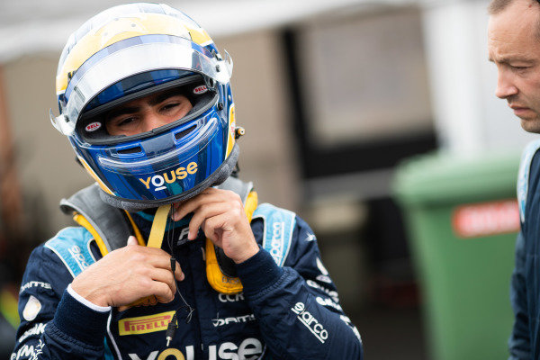 HUNGARORING, HUNGARY - AUGUST 02: Sergio Sette Camara (BRA, DAMS) during the Hungaroring at Hungaroring on August 02, 2019 in Hungaroring, Hungary. (Photo by Joe Portlock / LAT Images / FIA F2 Championship)
