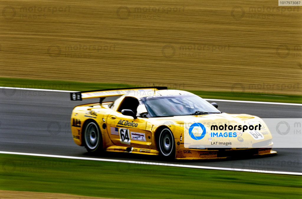 Kelly Collins / Andy Pilgrim / Franck Fréon, Corvette Racing Garry Pratt, Chevrolet Corvette C5-R.