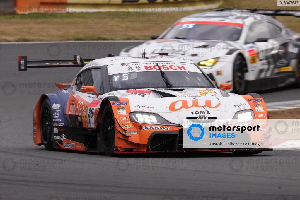 Yuhi Sekiguchi & Sacha Fenestraz ( #36 au TOM'S GR Toyota Supra ), 3rd position