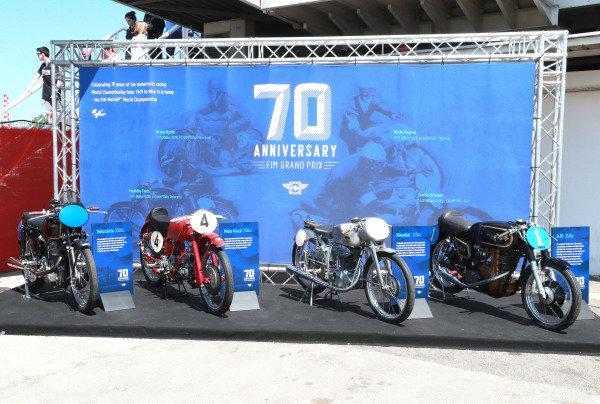 70th anniversary of GP display.