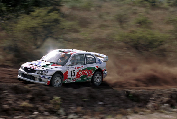 2000 Argentina Rally.Alister McRae (Hyundai Accent WRC).World - McKlein/LAT Photographic