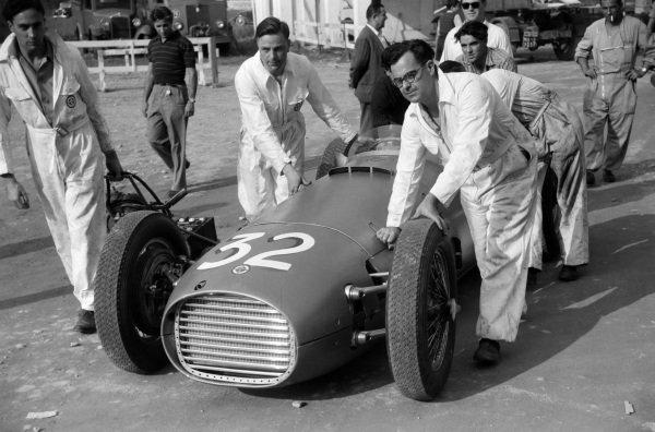 Ken Richardson's BRM P15.