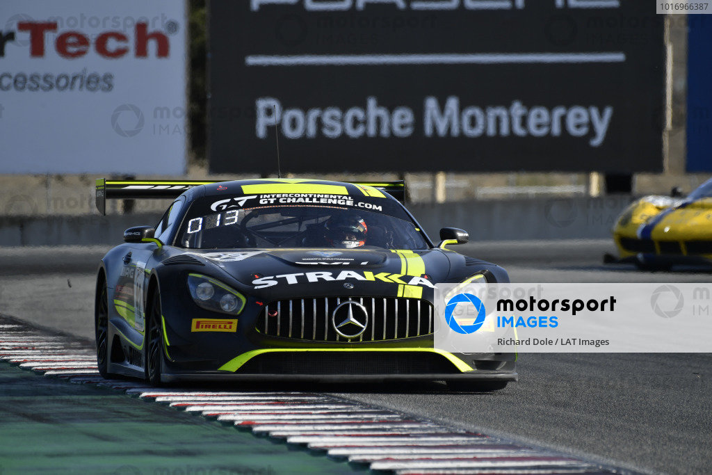 #42 Strakka Racing Mercedes AMG GT3: Nick Leventis, Felipe Fraga, David Fumanelli