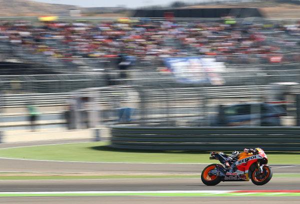 2017 MotoGP Championship - Round 14 Aragon, Spain. Saturday 1 January 2000 Dani Pedrosa, Repsol Honda Team World Copyright: Gold and Goose / LAT Images ref: Digital Image 694232