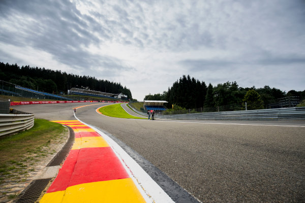 2017 FIA Formula 2 Round 8. Spa-Francorchamps, Spa, Belgium. Thursday 24 August 2017. A view of the track. Photo: Zak Mauger/FIA Formula 2. ref: Digital Image _54I9461