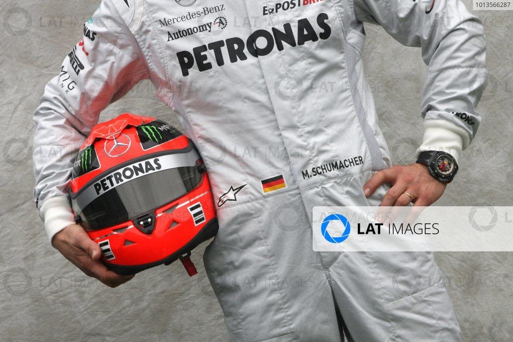 Albert Park, Melbourne, Australia24th March 2011.Michael Schumacher, Mercedes GP W02. World Copyright: LAT Photographicref: Digital Image1_LC2589