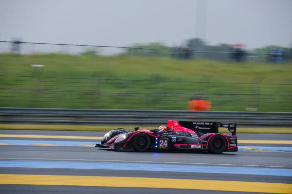 9th June, 2013, Le Mans, France Oak Racing: Olivier Pla, David Heinemeier-Hansson, Alex Brundle.(c) 2013, Camden Thrasher LAT Photo USA