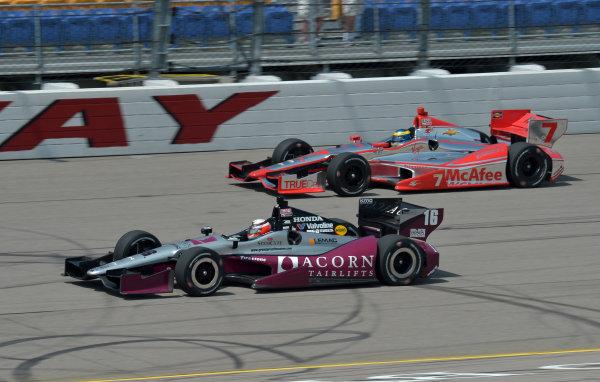 22-23 June, 2013, Newton, Iowa USA.#16 James Jakes, Rahal Letterman Lanigan Racing with Sebastien Bourdais ©2013, Dan R. Boyd LAT Photo USA