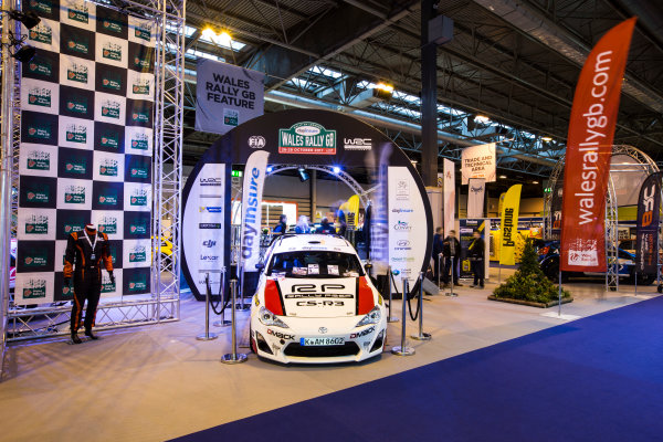 Autosport International Exhibition. National Exhibition Centre, Birmingham, UK. Friday 13 January 2017. Wales Rally GB Feature Photo: Sam Bloxham/LAT Photographic ref: Digital Image _SLB4761