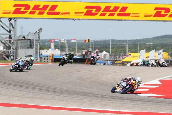 2017 Moto3 Championship - Round 3 Circuit of the Americas, Austin, Texas, USA Sunday 23 April 2017 Romano Fenati, Marinelli Rivacold Snipers World Copyright: Gold and Goose Photography/LAT Images ref: Digital Image Moto3-R-500-2708