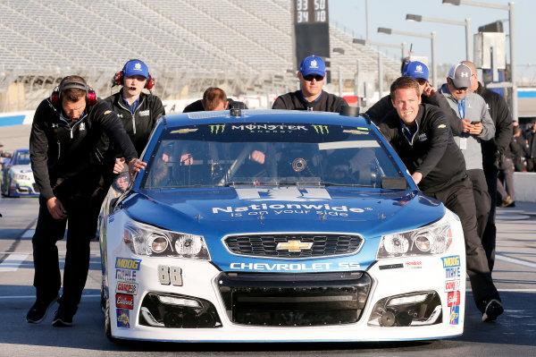 2017 Monster Energy NASCAR Cup Series - Fold of Honor QuikTrip 500 Atlanta Motor Speedway, Hampton, GA USA Friday 3 March 2017 Dale Earnhardt Jr World Copyright: Matthew T. Thacker/LAT Images ref: Digital Image 17ATL1mt1170