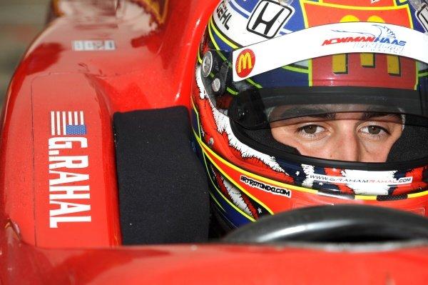 Graham Rahal (USA) Newman Haas Lanigan Racing.IndyCar Series, Rd15, Peak Anti Freeze 300, Chicagoland Speedway, Joliet, Illinois, USA, 29-30 August 2009.