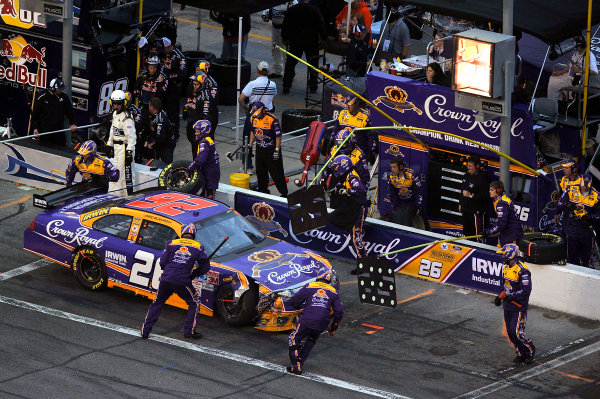 11-15 February, 2009, Daytona Beach, Florida USAJamie McMurray suffers damage after being caught up in a accident.©2009, LAT South, USALAT Photographic