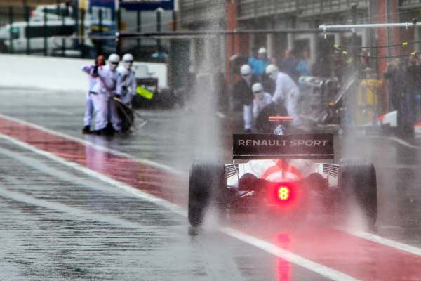 SPA-FRANCORCHAMPS 20-22 May 2016: Formula V8 3.5 at Spa-Francorchamps. Yu Kanamaru #25 Teo Martin Motorsport. Portrait. © 2016 Sebastiaan Rozendaal / Dutch Photo Agency / LAT Photographic